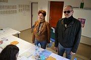 Vodňany - Hvožďanští ze 4. okrsku města Vodňan volili v pátek 20. října v hasičské zbrojnici