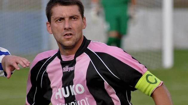 Útočník Václav Mrkvička dal v generálce tři góly.