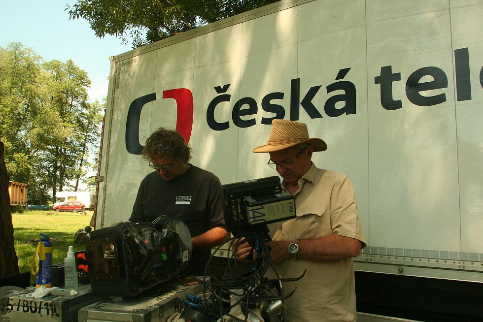 Natáčení filmu Nabarvené ptáče v roce 2017.