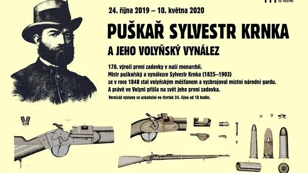 Puškař Sylvestr Krnka žil svého času ve Volyni.