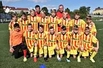 Druhé předkolo Ondrášovka Cupu U13 v Písku.