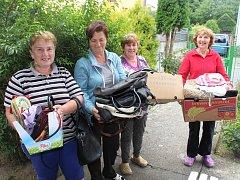 Bábinky z Radomyšle nasbíraly přes 50 kabelek.