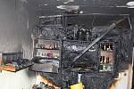 Dva požáry v bytech podobné následky.