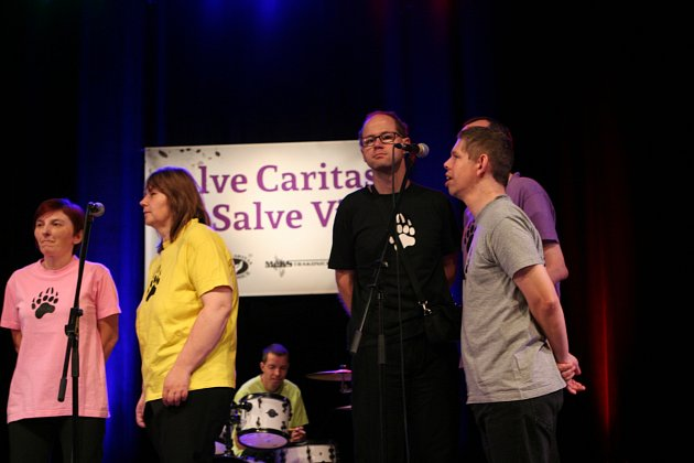 Ve Strakonicích se koná 13. ročník mezinárodního festivalu zdravotně postižených hudebníků.