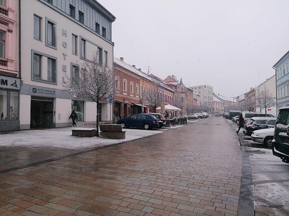 Tříkrálové sněžení na Strakonicku.