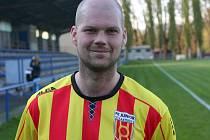 Fotbalista Junioru Strakonice Václav Šrámek.
