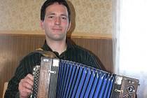 Harmonikář Jakub Komrska