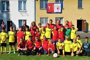 Pro Jakoubka Jandu hrály fotbal i mládežnické výběry ze Strakonicka a Písecka.
