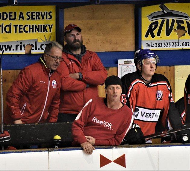 Krajská liga hokejistů pokračovala dalším kolem. Ilustrační foto: