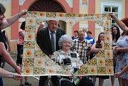 V sobotu slavili v Česticích diamantovou svatbu.