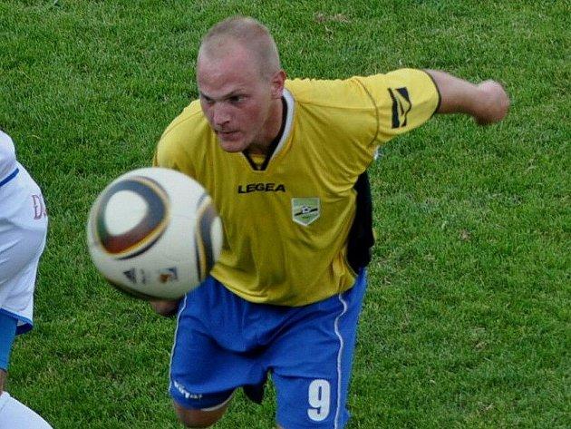 Osek hraje doma druhé derby, v sobotu hostí Blatnou. Na snímku je Karel Kalianko.