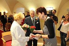 Manželé Anna a František Pejchalovi slavili 65 let společného manželství.