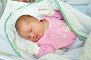 Lucie Horová z Myslívi. Lucinka se narodila 21. prosince 2018 v 9 hodin a 13 minut a při narození vážila 3700 g. Lucinka má již doma brášku Petra (9).