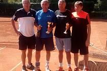 V Blatné se konal tenisový turnaj veteránů.
