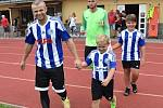 Fotbalový KP: Blatná - Milevsko 1:1.