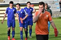 Fotbalová I.A třída: Junior Strakonice - Vimperk 2:2.