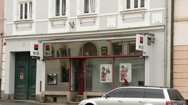 Komerční banka ve Volyni.