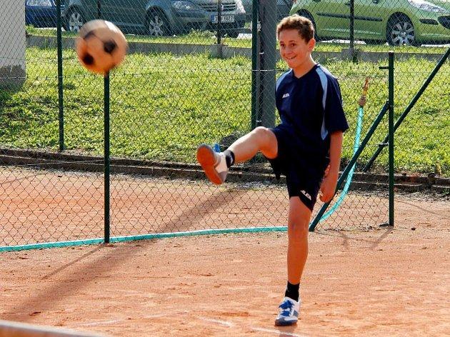 Na snímku je Tomáš Věženský.