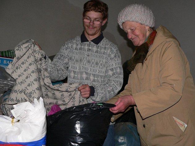 Sbírka pomohla potřebným