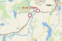 Práce na rekonstrukci Zátavského mostu finišují, aby tudy mohla od 19. prosince projíždět auta