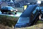 Na výjezdu ze Strakonic došlo ve středu 2. prosince k jedné z nehod toho dne na Strakonicku.