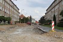 Ve  čtvrtek 21. září bude kompletně uzavřena střední část ulice Krále Jiřího z Poděbrad, kde sídlí i městský odbor dopravy.