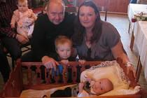 V Záboří přivítali tři děti.