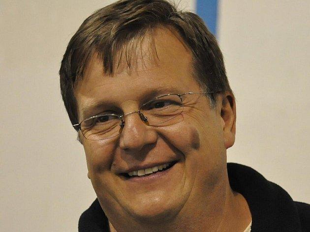 Organizační pracovník hokejového oddílu Radomyšle Miroslav Kastner.