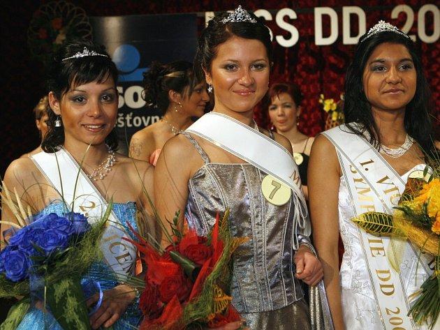 Tři nejkrásnější dívky Miss dětských domovů.