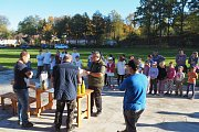 Na hřišti v Mladějovicích konalo střelecké odpoledne ve střelbě se vzduchovky.