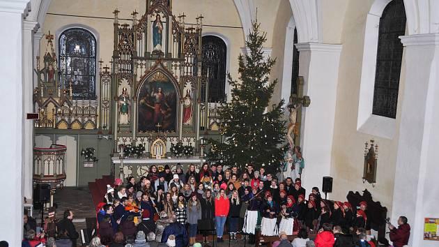 Tříkrálový koncert se uskutečnil v pátek 4. ledna v kostele svaté Markéty ve Strakonicích.