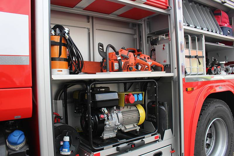 Město Vodňany se rozhodlo podpořit činnost svých dobrovolných hasičů a sboru zakoupilo novou stříkačku.
