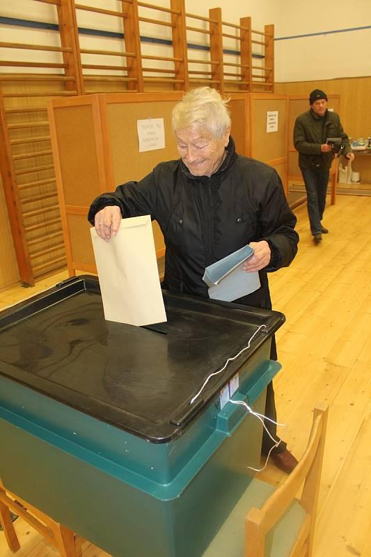 Opakované volby ve Strakonicích.