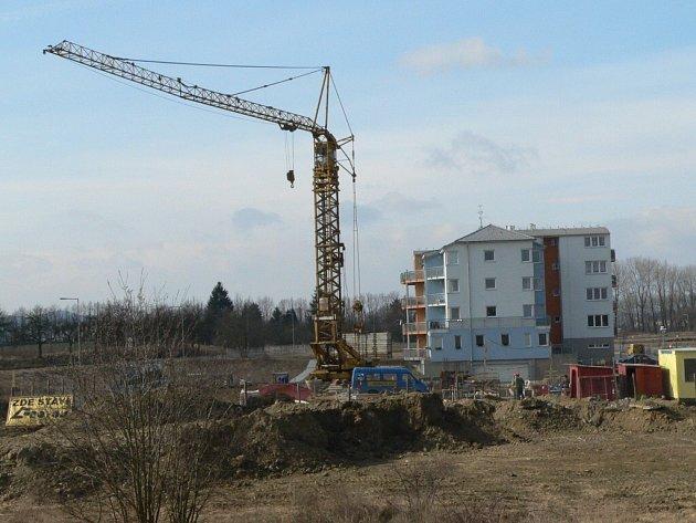 Nový bytový dům na Jezárkách.