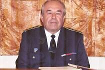 Dobrovolný hasič Václav Císařovský.