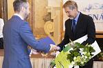 Ocenění pro Radomyšl za Zelenou stuhu.