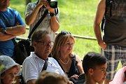 Desítky rodin s dětmi zavítaly v sobotu 21. července do Hoslovického mlýna u příležitosti zábavného dětského dne pro děti.