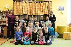 Předškoláčci z třídy Motýlků z MŠ Radomyšle