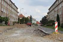 Poděbradova ulice bude kompletně uzavřena 18. září