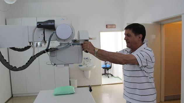 Rentgenová ambulance v Poliklinice Blatná má nové zařízení.