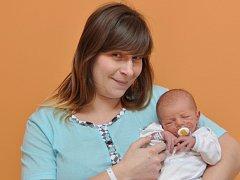 Johana Divišová, Blatná, 26.2. 2015 ve 12.42 hodin, 3000 g. Malá Johana je prvorozená.