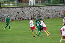 Fotbalová I.A třída: Lažiště - Junior Strakonice 3:1.