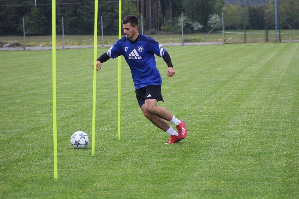 Fotbalisté Katovic se již pilně připravují na novou sezonu.