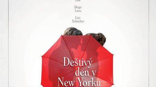 Deštivý den v New Yorku.