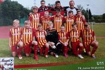 Fotbalová přípravka Junioru přivezla z Rakouska první místo.