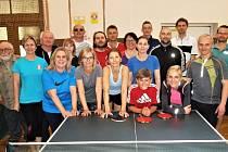 Volyňští stolní tenisté pořádali další turnaj.