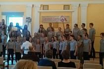 Sboristé strakonického gymnázia v Opavě nadchli.