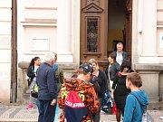 Začátek školního roku v Základní škole  Alešova ve Vodňanech.
