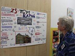 Oslavy 50. let založení ZŠ T.G. Masaryka v Blatné