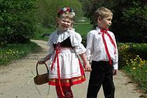 Děti, krásné počasí a tradice. Taková kombinace dokáže vždy potěšit.